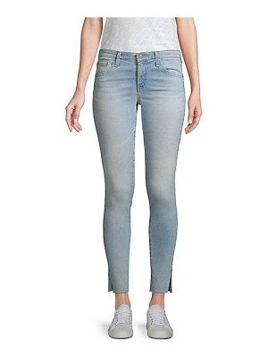 AG Jeans mid-rise ankle skinny jeans