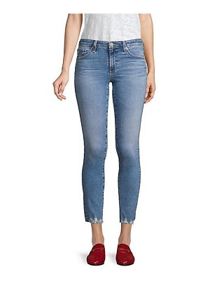 AG Jeans mid-rise cigarettle ankle jeans