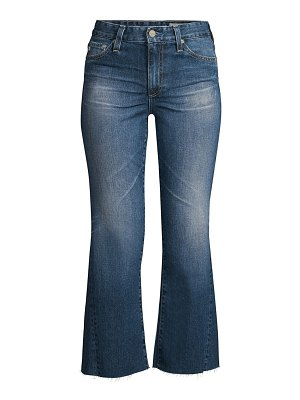 AG Jeans quinne high-rise cropped flare jeans
