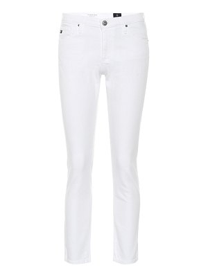 AG Jeans the prima mid-rise skinny jeans