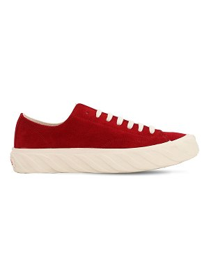 AGE - ACROSS TO GENUINE ERA Low cotton canvas sneakers
