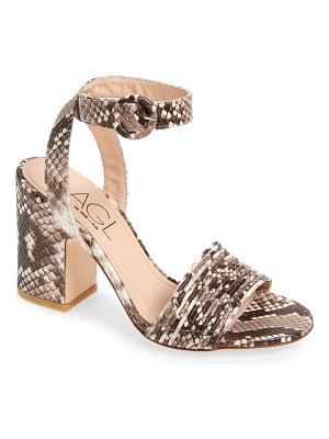 AGL multi band block heel sandal