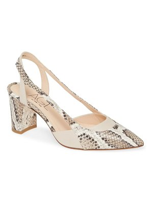AGL slingback pointed toe pump