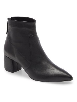 AGL snake print stretch leather bootie