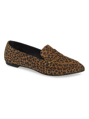AGL softy pointy toe moccasin loafer