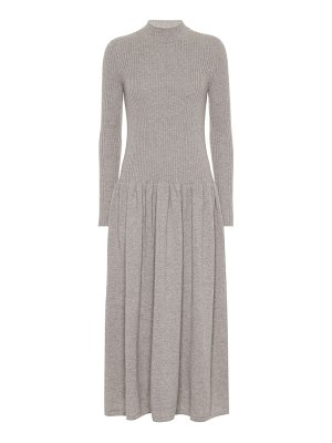 Agnona cashmere midi dress
