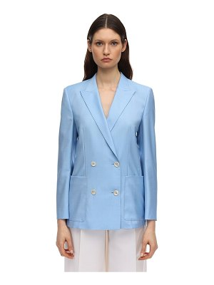 Agnona Double breasted wool jacket