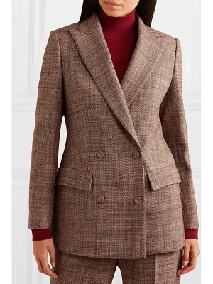 Agnona double-breasted wool-tweed blazer