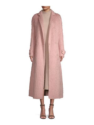 Agnona double faced mohair coat