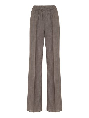 Agnona high-rise wide-leg pants