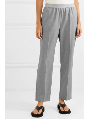 Agnona wool and cashmere-blend straight-leg pants