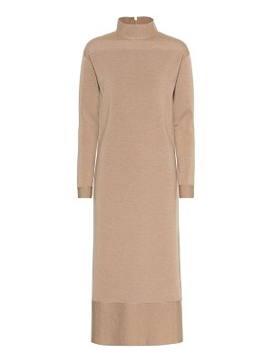Agnona wool-blend midi dress
