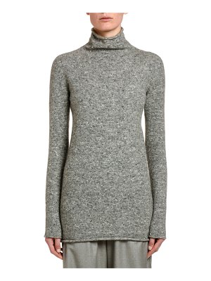 Agnona Wool-Cashmere Turtleneck Sweater
