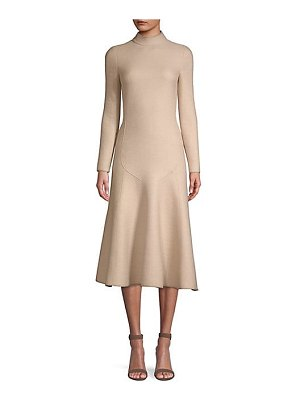 Agnona wool flare hem dress
