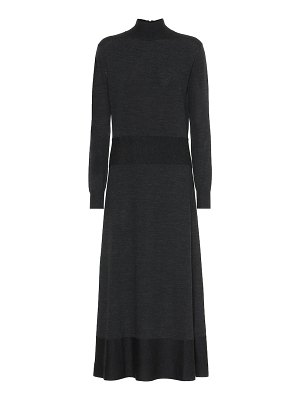Agnona wool midi dress