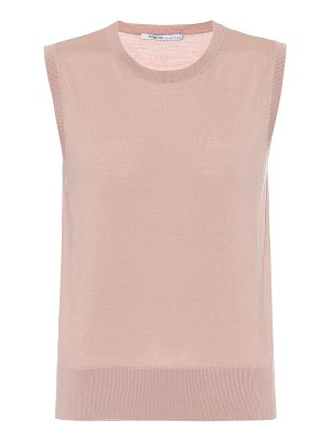 Agnona wool, silk and cashmere tank top