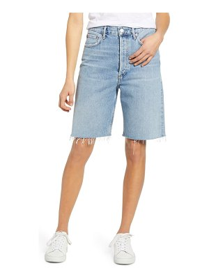 AGOLDE '90s longline denim shorts