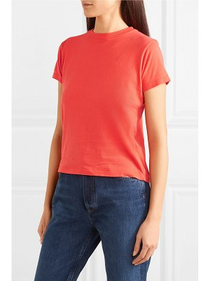 AGOLDE baby cropped cotton-jersey t-shirt