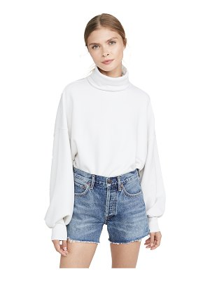 AGOLDE balloon sleeve turtleneck sweatshirt