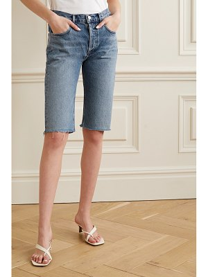 AGOLDE carrie denim shorts