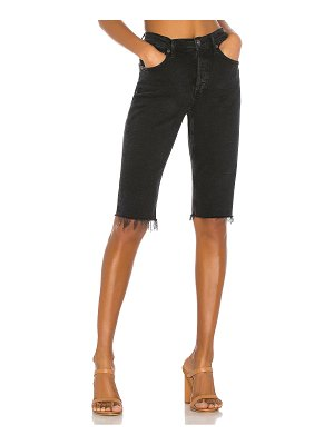 AGOLDE Carrie Long Length Slim Short