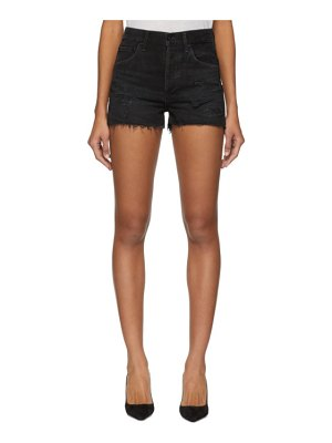 AGOLDE Denim Jaden Hi Rise Cut Off Shorts