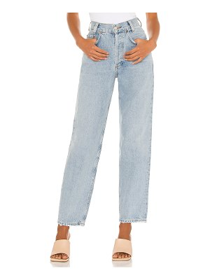 AGOLDE high rise tapered baggy jean