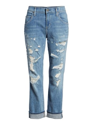 AGOLDE isabel high waist ankle straight leg jeans