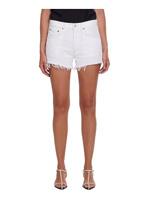 AGOLDE Parker Frayed Cutoff Shorts
