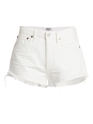 AGOLDE parker vintage cut-off shorts