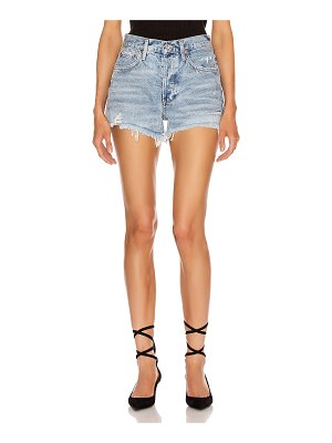 AGOLDE parker vintage loose cut off short