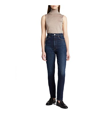 AGOLDE Pinched-Waist High-Rise Skinny Jeans