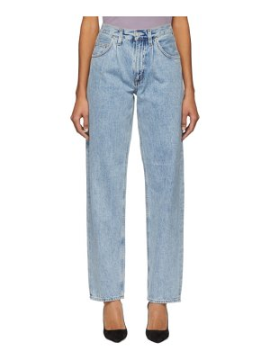 AGOLDE Pleats Baggy Oversized Jeans