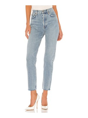 AGOLDE remy high rise straight. - size 23 (also