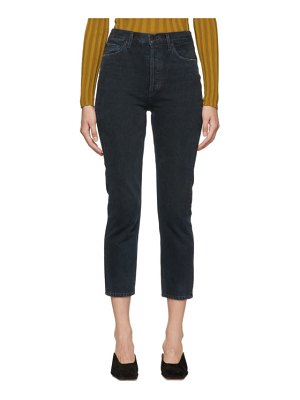 AGOLDE Riley Hi Rise Straight Crop Jeans