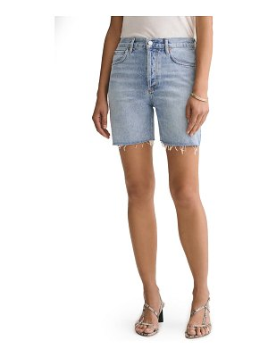 AGOLDE rumi denim shorts