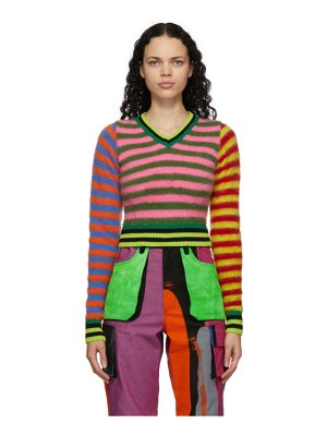 AGR multicolor mohair emo sweater