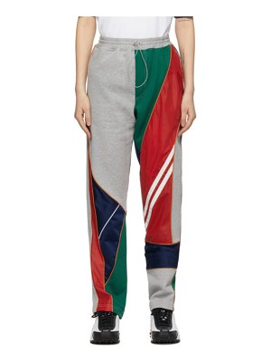 Ahluwalia multicolor recycled patchwork lounge pants