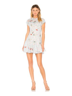 aijek Sydney Broderie Short Sleeve Dress