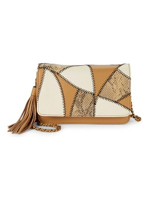 Aimee Kestenberg Flap Leather Crossbody Bag