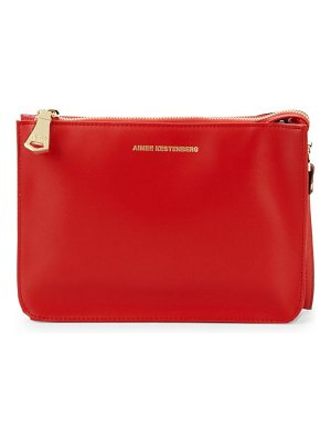 Aimee Kestenberg Logo Leather Clutch