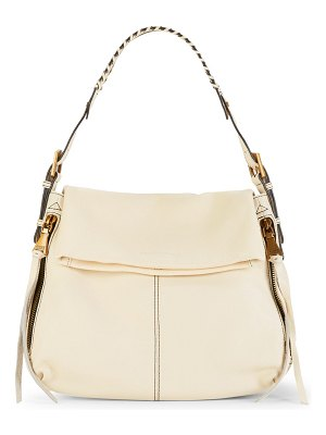 Aimee Kestenberg Penelope Pebbled-Leather Hobo Bag