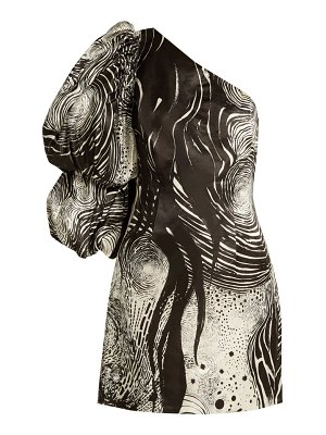 Aje x brett whiteley starry night print dress