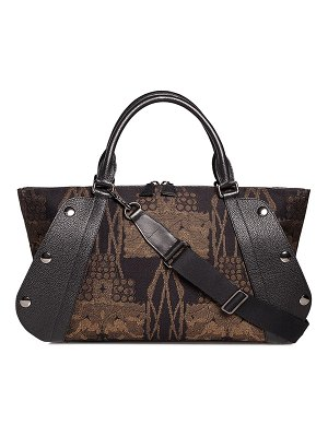 Akris Aimee Small Fruits of Vienna Satchel Bag