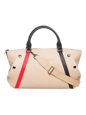Akris Aimee Small Linia Treatment Satchel Bag