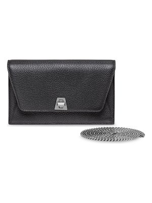 Akris Anouk Leather Clutch Bag