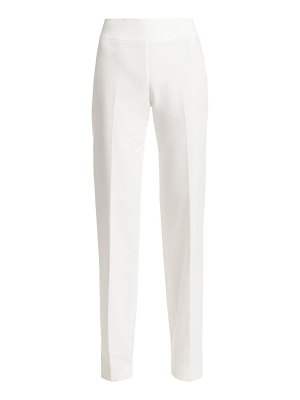 Akris carla cotton wide-leg pants
