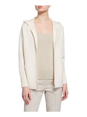 Akris Cashmere Hooded Sweater
