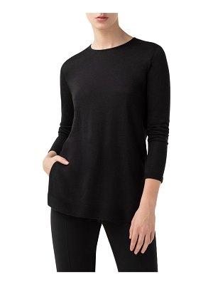Akris Cashmere-Silk Fine Gauge Sweater