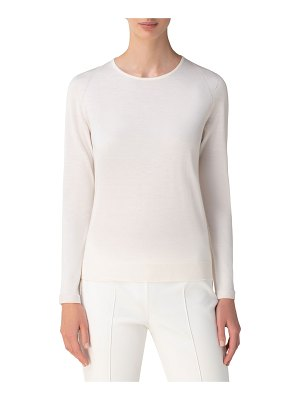 Akris Cashmere-Silk Seamless Sweater